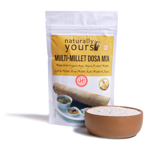 Naturally Yours Multi Millet Dosa Mix - 160gm