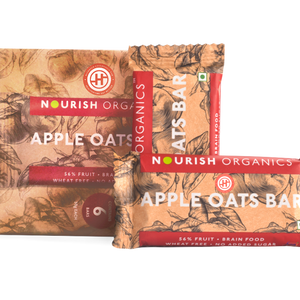 Apple Oats Bar, Pack of 6 (30gm Each)