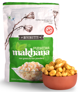 Pudhina Makhana, Pack of 2(60gm each)