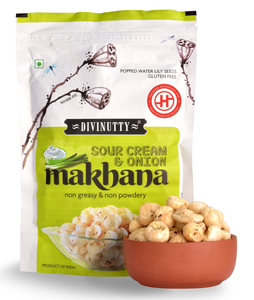 Sour Cream & Onion Makhana, Pack of 2(60gm each)