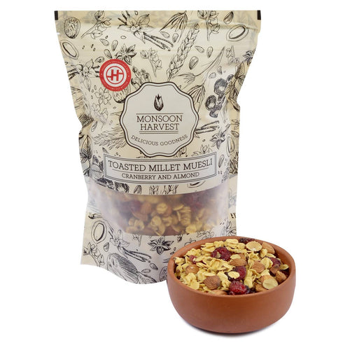 Toasted Millet Muesli Cranberry and Almond - 250 gm