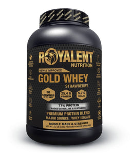 Gold Whey-Strawberry, 1kg + FREE SHAKER