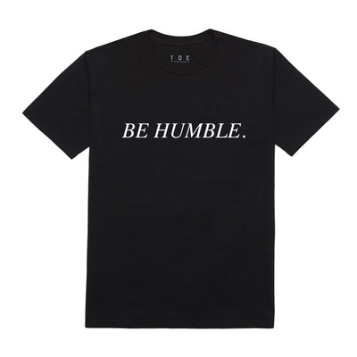Humble black t shirt front 400x