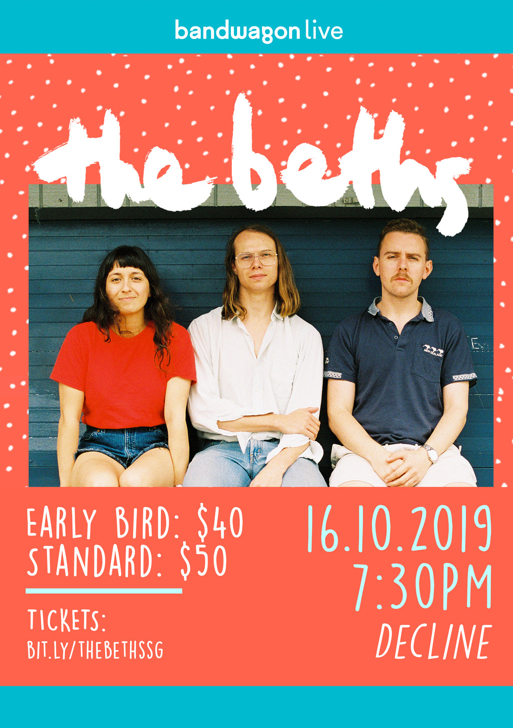 The Beths Live in Singapore