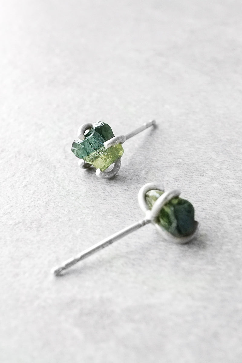 color zdc stud peridot cz bling green studs silver p earrings round sterling jewelry