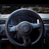 Super Soft Genuine Leather Steering Wheel Cover