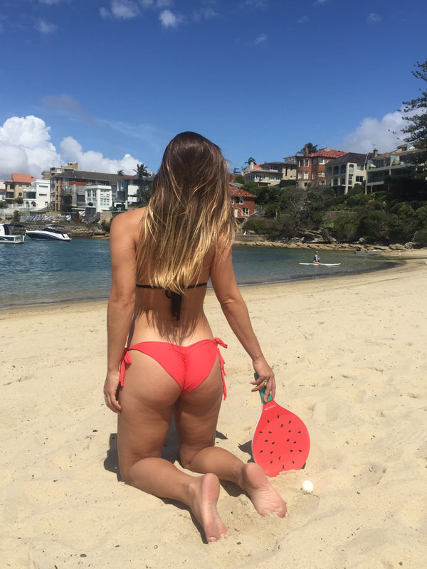 Coral Cheeky bottom