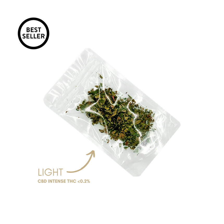 Good Swiss Trim Light -THC < 0.2%