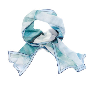 Flying Solo Silk Wrap Scarf