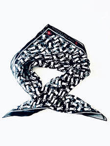 Save The Children Silk Handkerchief Scarf