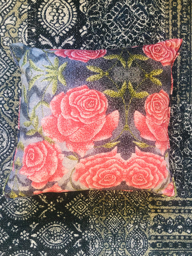 Rose Painting Cushion