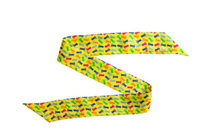 Save the Children Silk Tie Scarf in Yellow