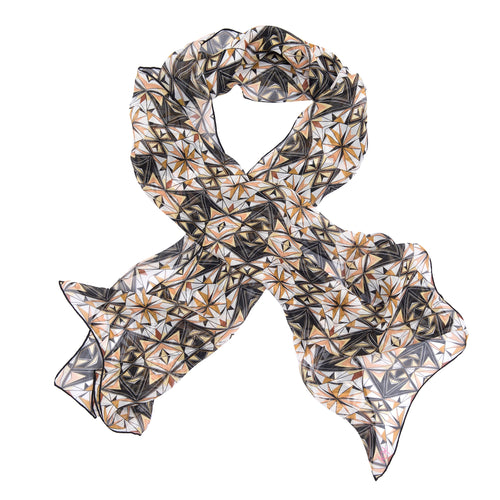 Wonder Woman Tribal Symmetry Silk Wrap Scarf