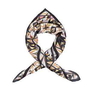 Wonder Woman Tribal Symmetry Silk Handkerchief Scarf