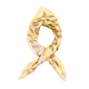 Freedom & Flight Silk Handkerchief Scarf in Pale Yellow (only 2 left)