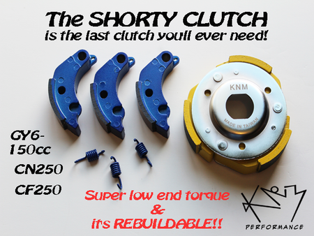 The KNM Shorty Clutch was Born