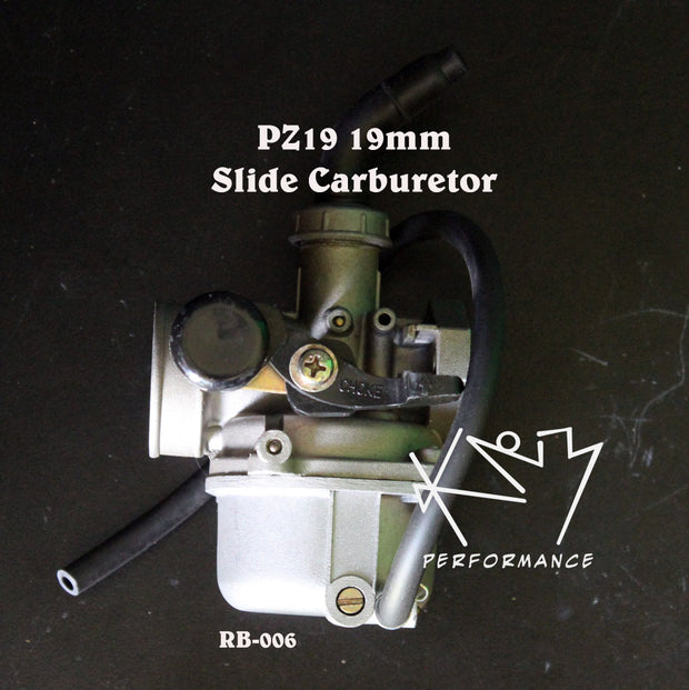 Carburetor 19mm Slide with Manual Choke