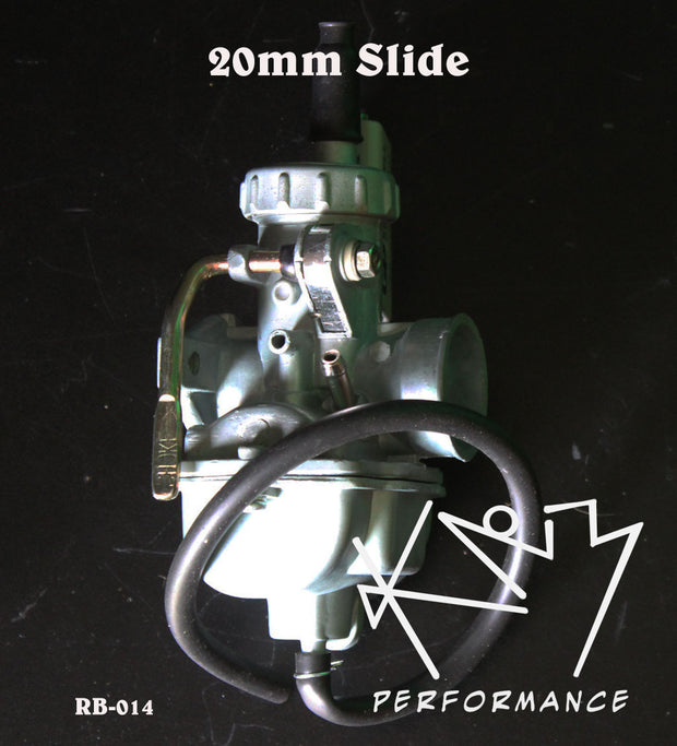 Carburetor PZ20mm Slide with Manual Choke