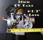 Carburetor 24mm with Auto Choke