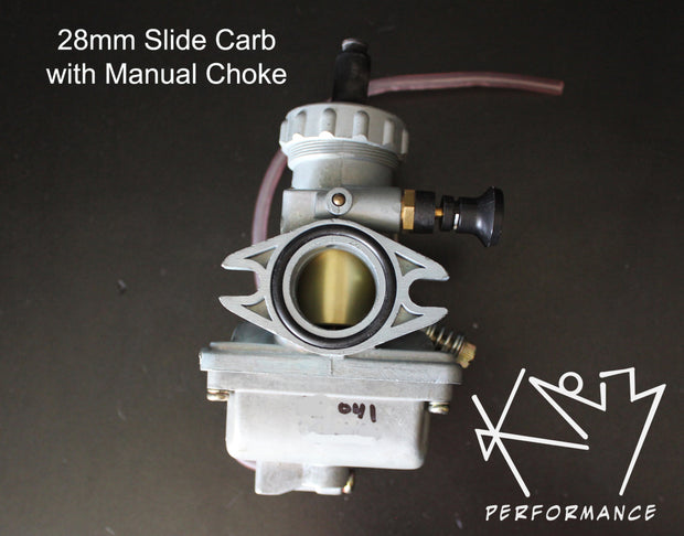 Carburetor 28mm with Manual Choke X 2
