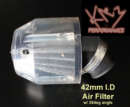 Air Filter 39mm With Clear Cover