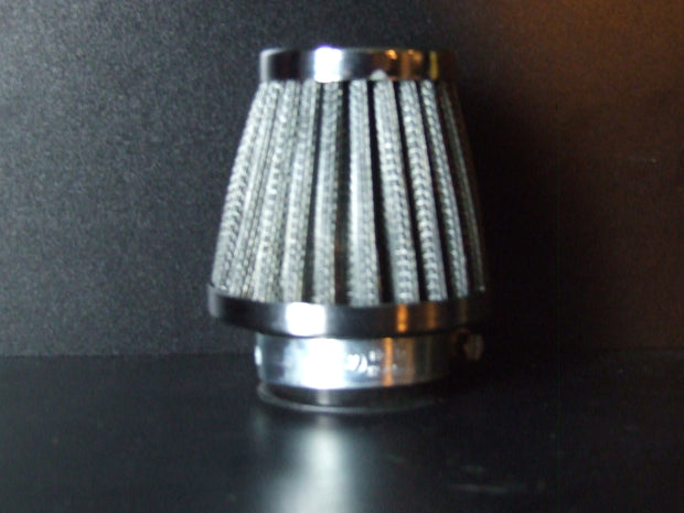 Air Filter 52mm with Chrome Top MOXI