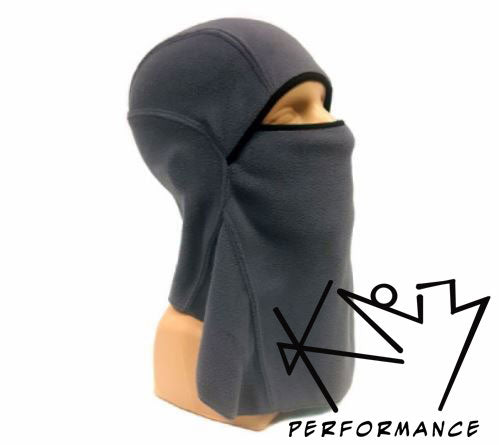 Balaclava Face Mask Grey Fleece
