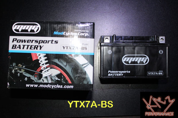 Battery 12V GEL YTX7A-BS CCA105