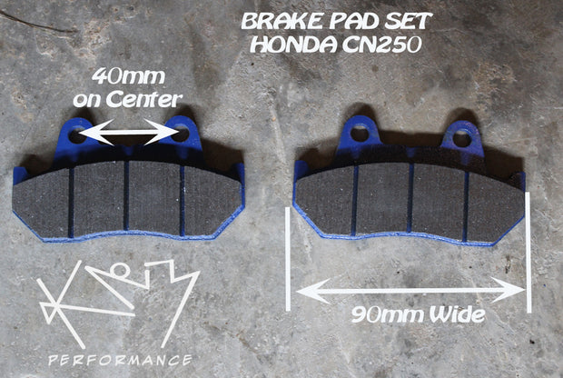 Brake pad set Scooter Honda 250