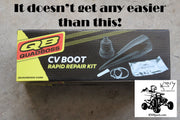 Rubber CV Boot Rapid Repair kit