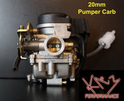 Carburetor 20mm Pumper with Auto Choke