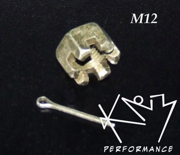 Castle Nut M12 with Kotter Pin