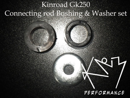 Bushing and washer set for GK250 Connecting rod
