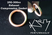 Exhaust Gasket Compression ring 250-300cc
