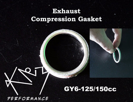 Exhaust Gasket Compression ring GY6 125-150cc