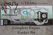 Gasket Set Engine GY6 50cc QMB139