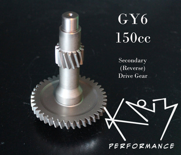 Gear Secondary Drive Shaft GY6 150cc