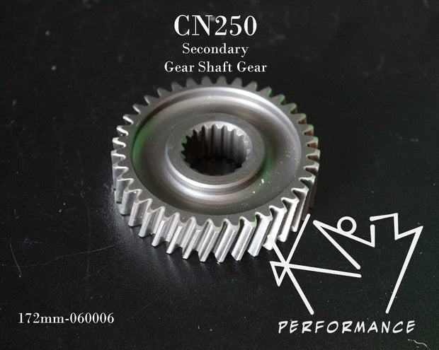 Gear Secondary Gear shaft gear CN250