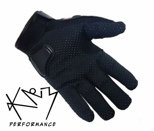 Gloves Motorcycle MX Black Med, Lg or XL