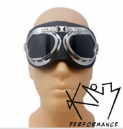 Goggles Retro Aviator Smoke