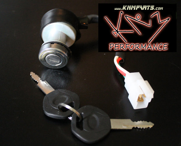 Ignition Switch with 2 Keys 3 Pin Gokart