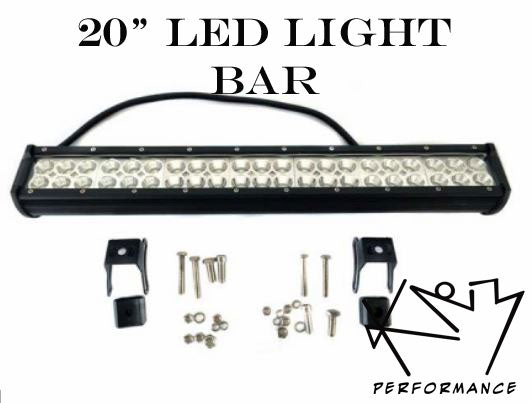 "LED Lights - 4"" Pods and 12"" to 20"" bars"