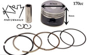 Piston & Ring set 58.5mm 170cc