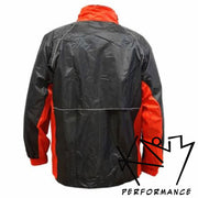 Rain Suit Black/Red Lg or XL