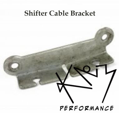 Reverse Shifter Cable Bracket