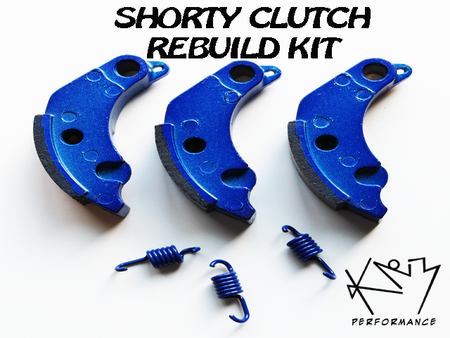 Clutch Rebuild kit for KNM's CN/CF250 Shorty Clutch