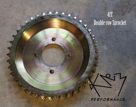 Sprocket Rear 41T Double Row 150/250
