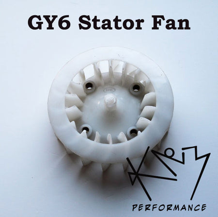 Fan GY6 150 Stator Plastic Stock