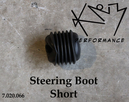 Rubber Steering Boot 2 Inch