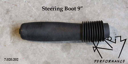 Rubber Steering Boot 9 Inch